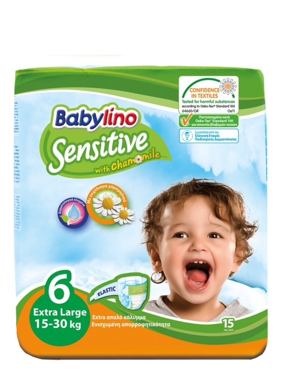 Babylino Baby Diapers  by 15 size 6