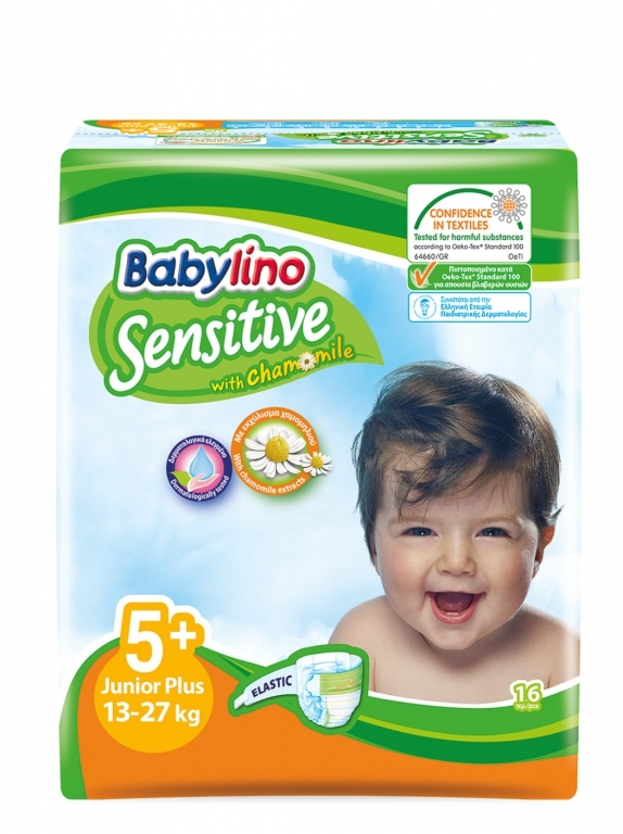 Babylino Baby Diapers by 16 Size 5+