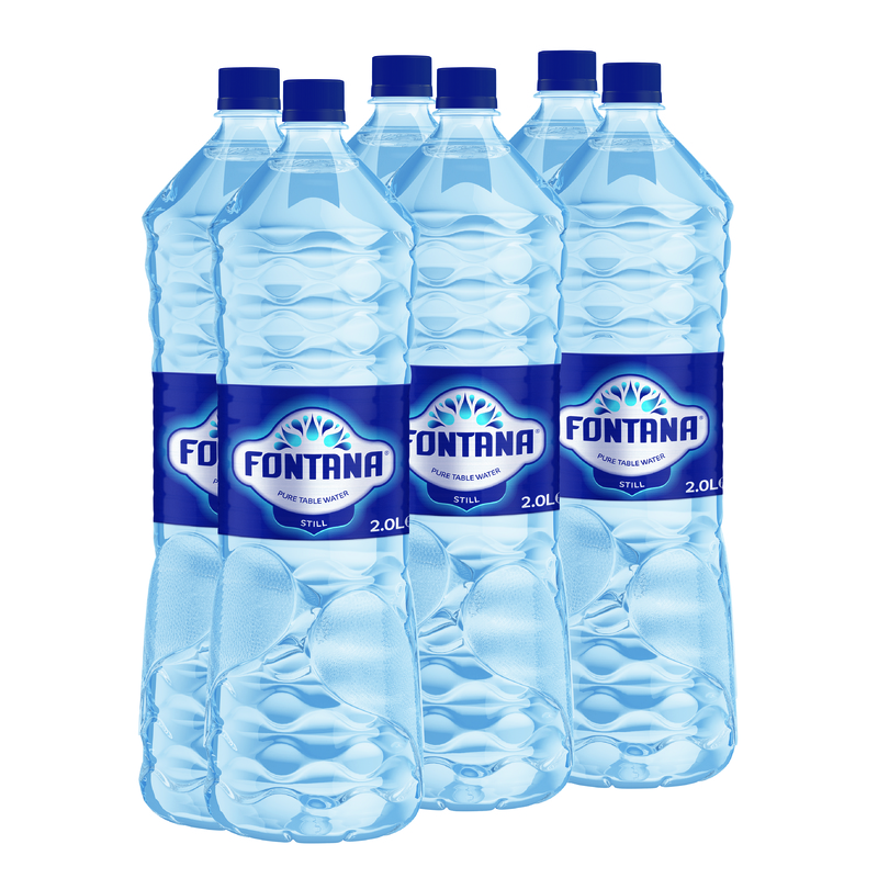 Fontana Water 2ltr pack by 6