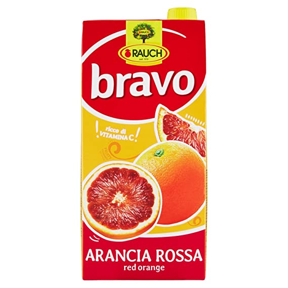 Bravo Arancia Rossa Juice  2ltr