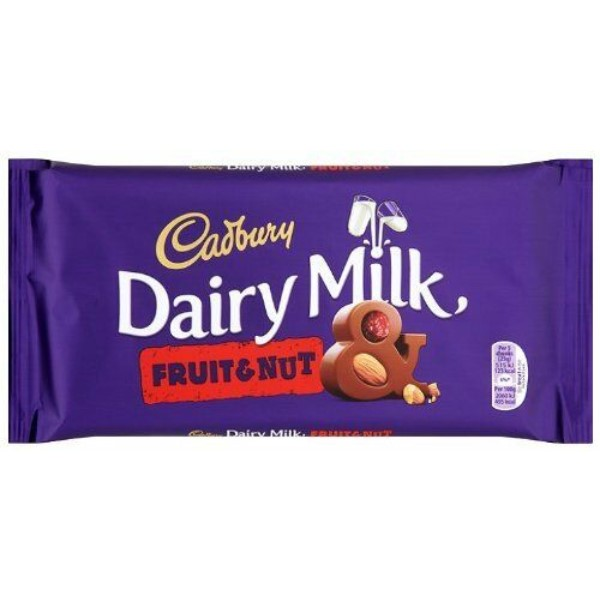 Cadbury Dairy Milk Fruit& Nut 200g