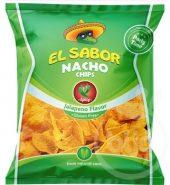El Sabor Nacho Chips Jalapeno Flavour Gluten Free