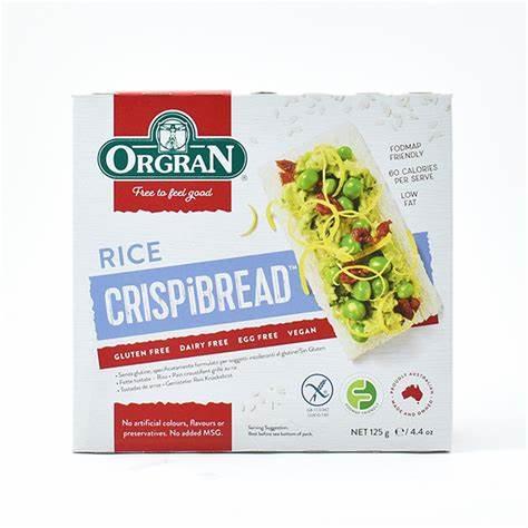 Orgran Rice Crispi Bread