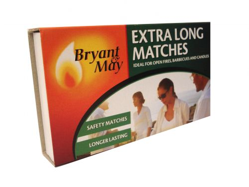 Bryant & May Extra long Matches pack by 3