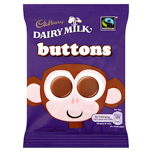 Cadbury  Chocolate Buttons 14.4g