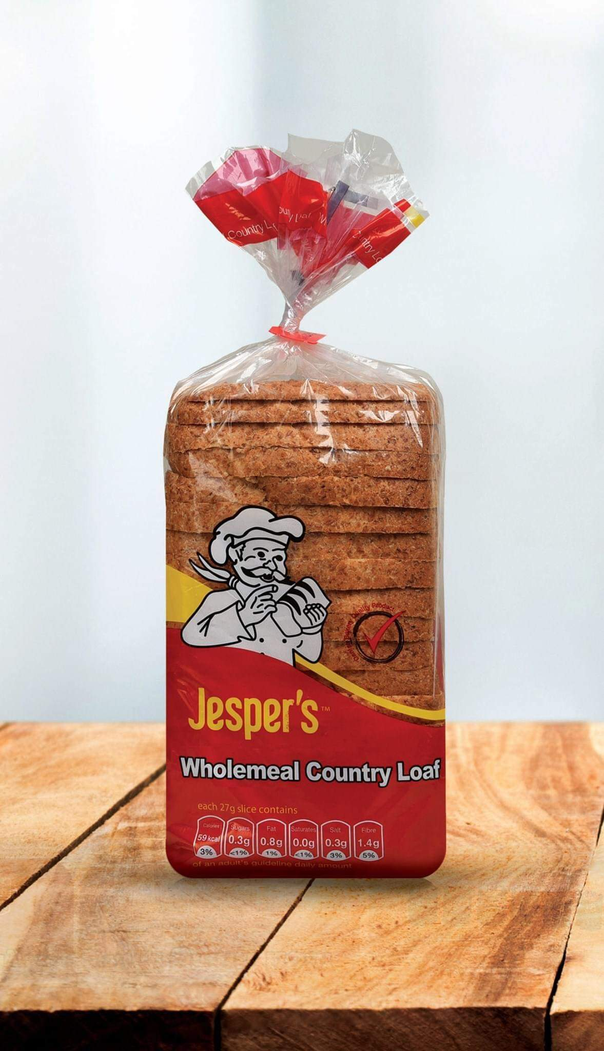 Jespers wholemeal country loaf