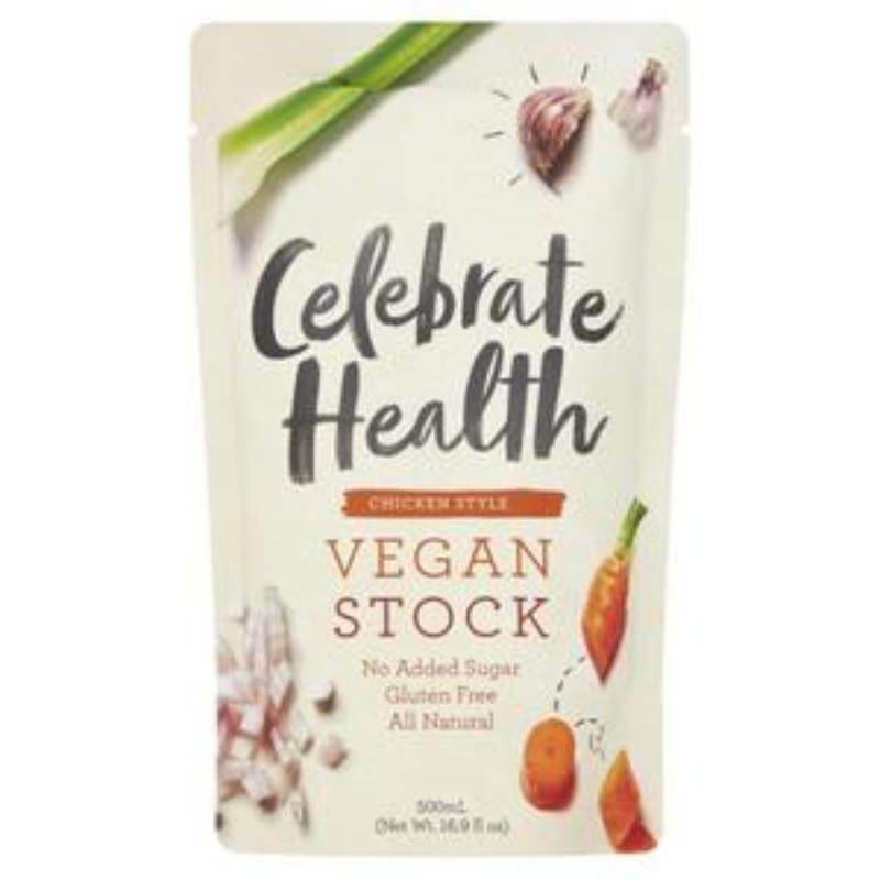 Celebrate Health Chicken Style Vegan Stock