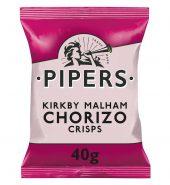 Pipers Kirkby Malham Chorizo Krips 40g buy 1 get 1 free