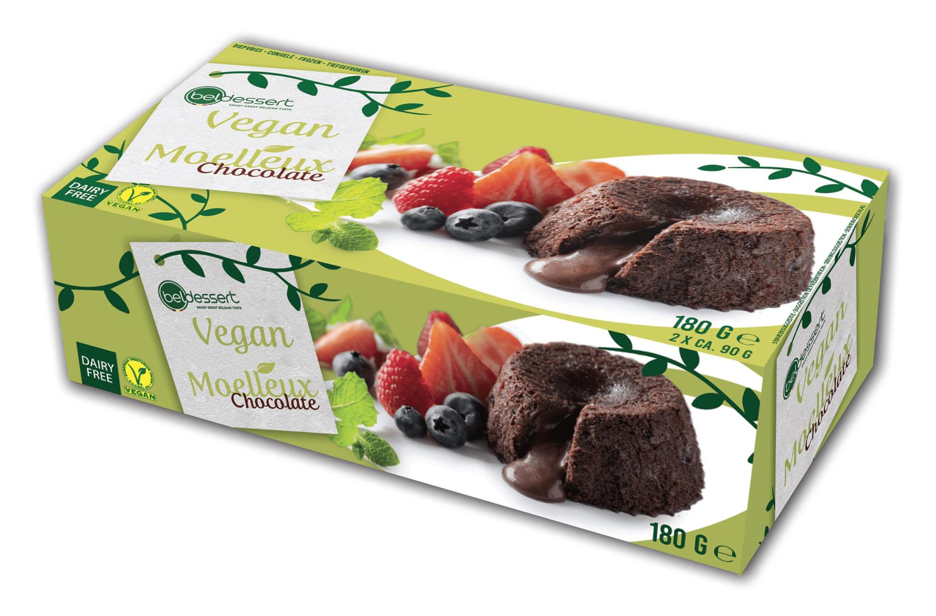 Beldessert Vegan Moelleux Chocolate